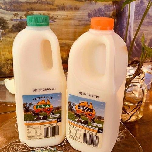 4Real Milk 2Ltr