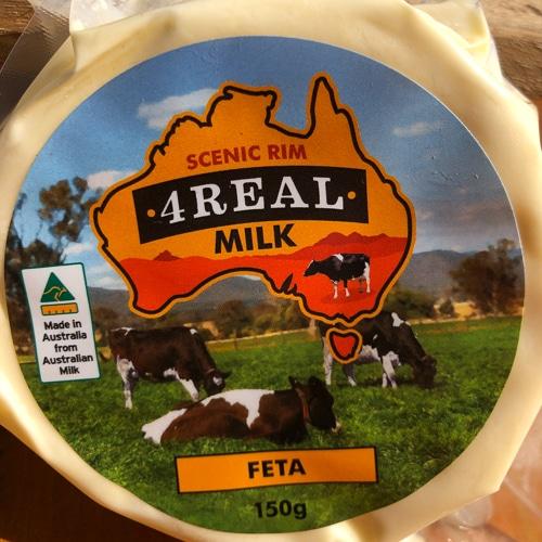 4Real Milk Feta