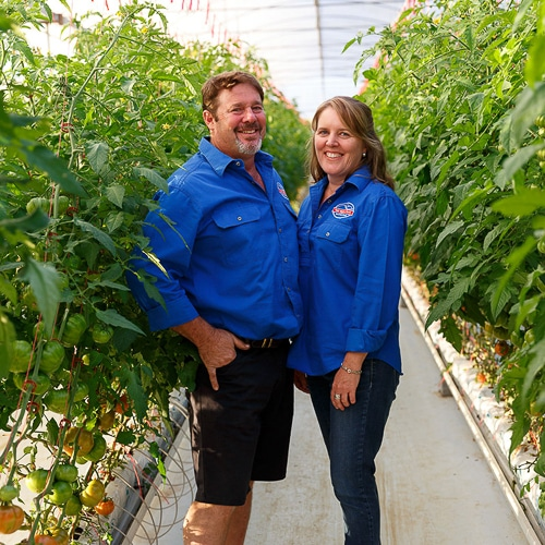 Troy & Vicki Muller, Peak Vege Patch